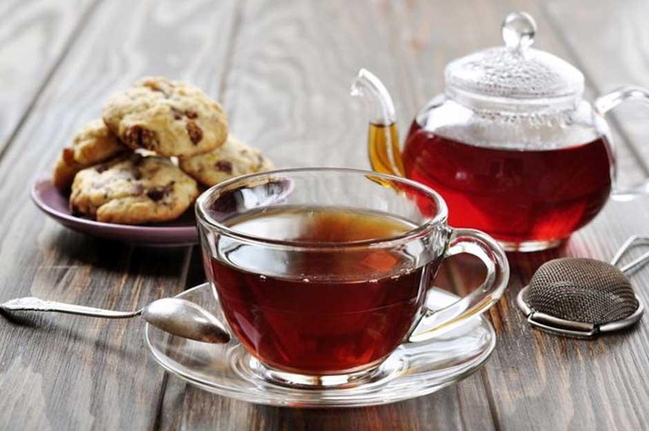 Türk tatlıları ve seylon çayı
